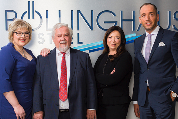 Photo of the Böllinghaus Steel GmbH Team